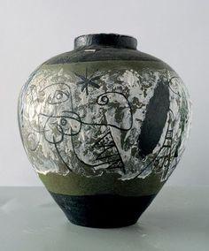 Joan Miro autre face Grand vase