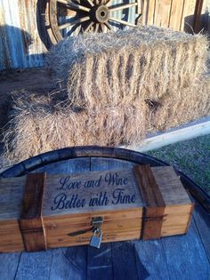 Wine Box Ceremony #Montgomery Weddings # BundleBrideWeddings