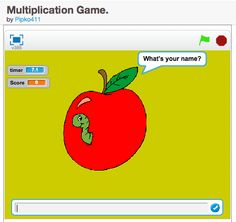 A simple game demonstrating how to make a quiz in Scratch