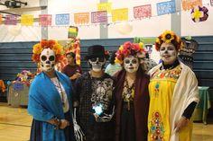 Napa, CA ~ A weekend's worth of community El Día de Los Muertos events — both reflective and celebratory.