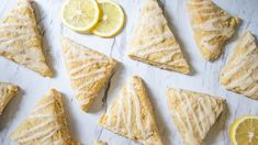 Brunch is not complete without delicious scones! These Vegan Lemon Scones are the perfect compliment to a brunch meal, snack for a party, or a sweet treat for your loved one on Valentine's Day! Lemon Scones, Orange Scones, Vegan Christmas, Vegan Thanksgiving, Organic Recipes, Vegan Recipes, Honey Glazed Carrots, Dessert Bars, Easy Desserts