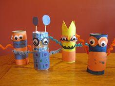 TP roll Robots.