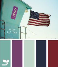 color holiday palette