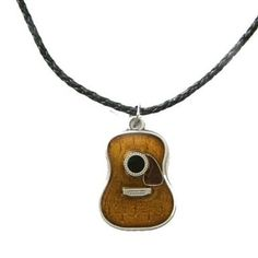 Acoustic Guitar Necklace  Price:	$14.98