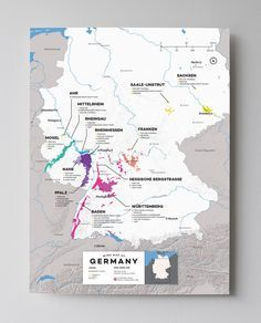 Germany, Riesling and her thirteen Anbaugebiete The most famous and pure expressions of Riesling are found in Germany's rugged river valley vineyards. Each of the thirteen regions (aka Anbaugebiete) s