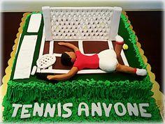 Tennis cake!!!!!