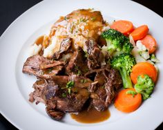 Slow Cooker Favorite Pot Roast. I could go for some of it right now ;)