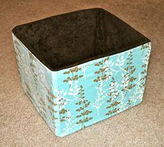 Fabric-Storage-Cubes