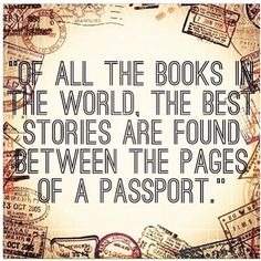 Tell your story through travel.