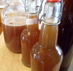 Root Beer Kombucha.  Make 2 quarts of Root Beer Extract.  Then add it to each bottle of kombucha and ferment another 1-3 weeks.