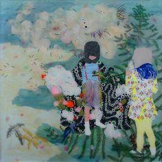 IN DER TANNENSPITZE IN DER TANNENSPITZE mixed media behind perspex, 152x152 cm 2008
