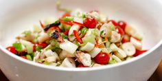 Grilled Octopus Salad with Lemongrass Ginger Dressing - Lifestyle FOOD