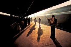 Steve McCurry — Books are the plane, and the train, and the road....