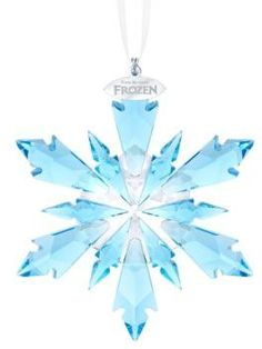 OH MY GASH! That`s PERFECT! Swarovski Frozen Crystal Snow Flake Ornament #ad #kidsfashion #kidswear #costume #children #childrenswear #childrensfashion #frozen #elsa #GIFTIDEA #giftideas #gift #accessories