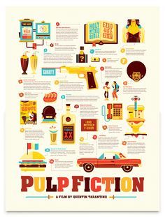 Pulp Fiction new infographic!