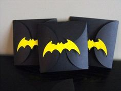 batman wedding invitations   Batman Party Invitations / Papercraft - Juxtapost I like the way these are put together, they make me smile...and they seem like they'd be pretty simple to make