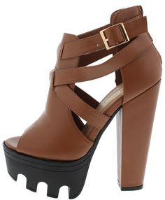 VIVE12 COGNAC HEEL ONLY $10.88. . All women's shoes, heels, wedges, sandals, and flats are $10.88 a pair.