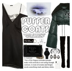 """Untitled #2831"" by anarita11 ❤ liked on Polyvore featuring R13, Puma, Christian Louboutin, Chanel, CLUSE, Charlotte Russe, Illamasqua, Various Projects and Happy Plugs"