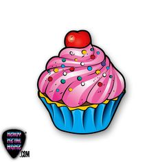 Images For > Cupcake Drawings Tattoo