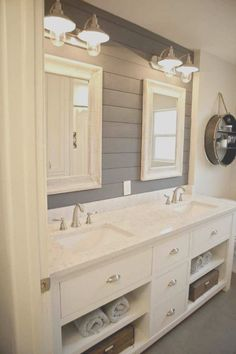 Guest Bathroom Remodel, Bath Remodel, Bathroom Renovations, Budget Bathroom, Bathroom Makeovers, Bad Inspiration, Bathroom Inspiration, Modern Farmhouse Bathroom, Urban Farmhouse