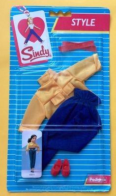 SINDY STYLE 'TEXAS ROSE' STILL IN PACK PEDIGREE 1985 | 14.95+2.35