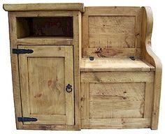 rustic+pine+table   Telephone Table Rustic Pine - Pine Furniture   Painted Pine Furniture ...