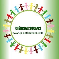 CIÊNCIAS SOCIAIS – Estuda o desenvolvimento, a organização, a origem e o funcionamento da sociedade e da cultura.        Atuação: Antropologia, ciência política, sociologia, ensino, pesquisa de opinião