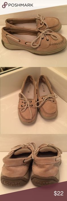 138159eadd Cute Sperrys for school or everyday wear. Some wear but still have a lot of  life left Sperry Top-Sider Shoes Moccasins