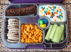Yumbox Lunches for the week of - Easy School Lunches, Kids Lunch For School, Toddler Lunches, Toddler Food, Healthy Lunches For Work, Healthy Snacks For Kids, Work Lunches, Bag Lunches, Lunch Snacks