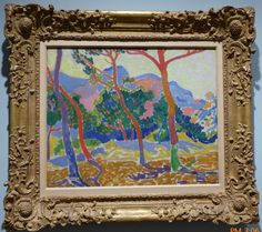 VanGogh to Rothko, The Trees, 1906, Andre derain, oil on canvas