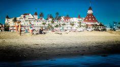 Hotel Del Coronado from the Coronado Beach