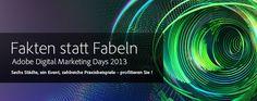 Gute Ansätze, wenig Neues: Die Adobe Digital Marketing Days 2013