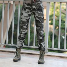 New Design Summer camouflage pants women fashion Casual sports outdoor Loose Sport Cargo pants women Military GK-9522B Z15 alishoppbrasil
