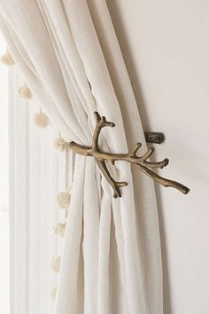 Branch Curtain Tie-Back   Urban Outfitters