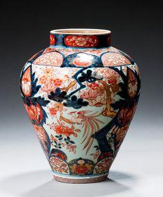 18th Century Imari Vase - Windsor House Antiques
