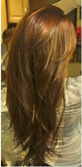 Long with layers... love this cut!!!