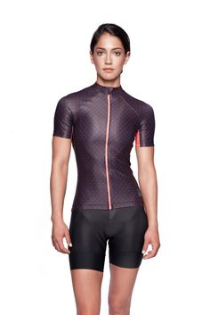 Dot Print Women's Cycling Jersey – MACHINES FOR FREEDOM