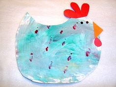 cute hen for craft time. Nate & I are excited to try this today. :)