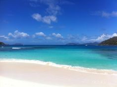 How the #BlueOceanBooking team spent our Tuesday lunch hour on #StJohn. #HawksnestBeach, #STJ, #USVI   Contact us to plan the best day of your USVI vacation!