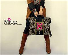 Aliexpress.com: Acheter Original Design Thai Style Miya sacs à main de broderie ethnique brodé fourre tout / épaule sacs sac Boho de sac à main fiable fournisseurs sur L&H BOUTIQUE