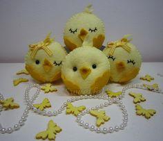 ♥♥♥ Viemos desejar a todos uma Páscoa muito feliz e docinha! by sweetfelt  ideias em feltro, via Flickr