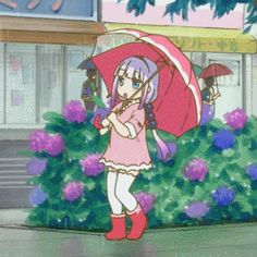"""snivlak: """"Kanna-chan's rain dance!"""