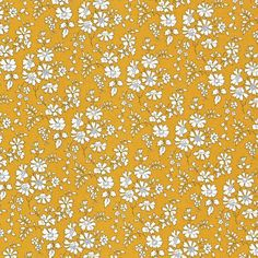 Liberty Tana Lawn Fabric Capel G Mustard - Alice Caroline - Liberty fabric…