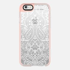 Paisley White - New Standard Pastel Case