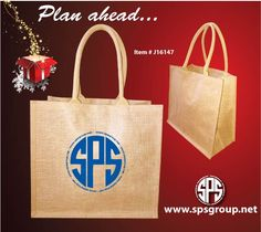 Custom Printed Jute Tote Bags made from naturally Eco-friendly laminated jute/burlap fabric with soft cotton webbing handles. Lightly laminated in the inside for easy cleaning, added strength and durability. Jute is naturally Eco-friendly, recyclable and biodegradable (renewable source). Beautiful totes feature large imprint area to showcase your brand, logo or art. Perfect for shopping, corporate events, eco branding, the beach, gifts, holidays, weddings, events and more.