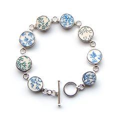 Moonflygirl: Seaweed Shard Bracelet