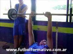Rutina de Musculación Básica de Fútbol Juvenil