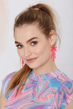 I Still Love You NYC Drip Splat Earrings | Shop Accessories at Nasty Gal!