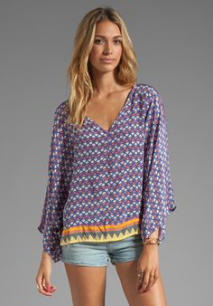 Tolani EXCLUSIVE Samantha Top in Purple/Pink