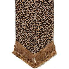Canaan Company Thundercat Cheetah Table Runner